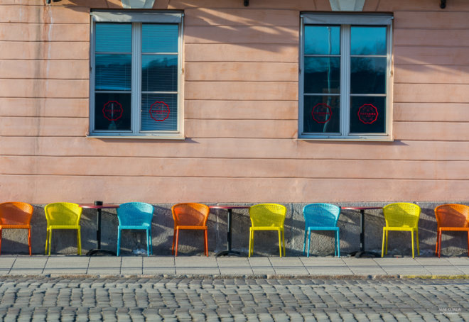 Chairs in Helsinki