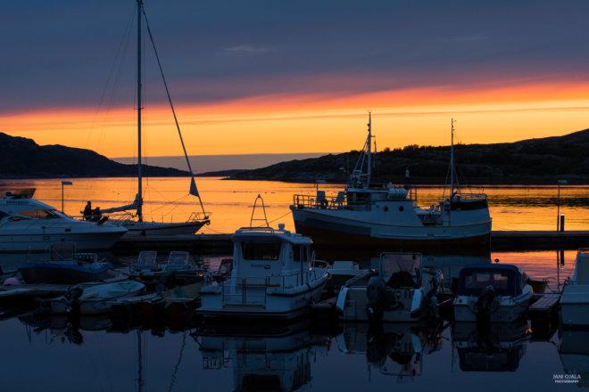Harbor at Norway