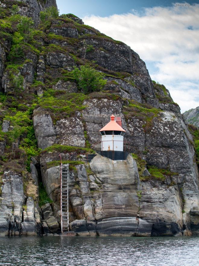 Lighthouse on the mountain