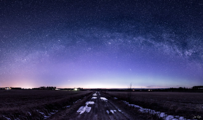 Milkyway in the countryside
