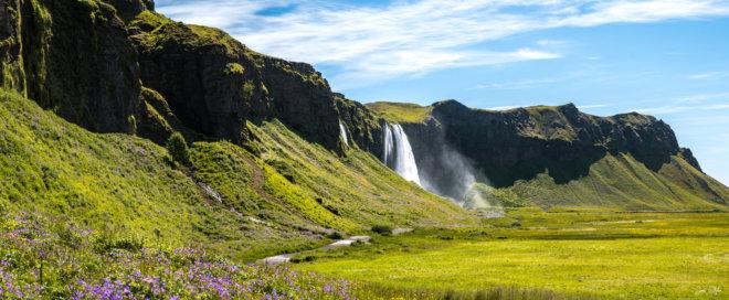 Seljalandsfoss panorama